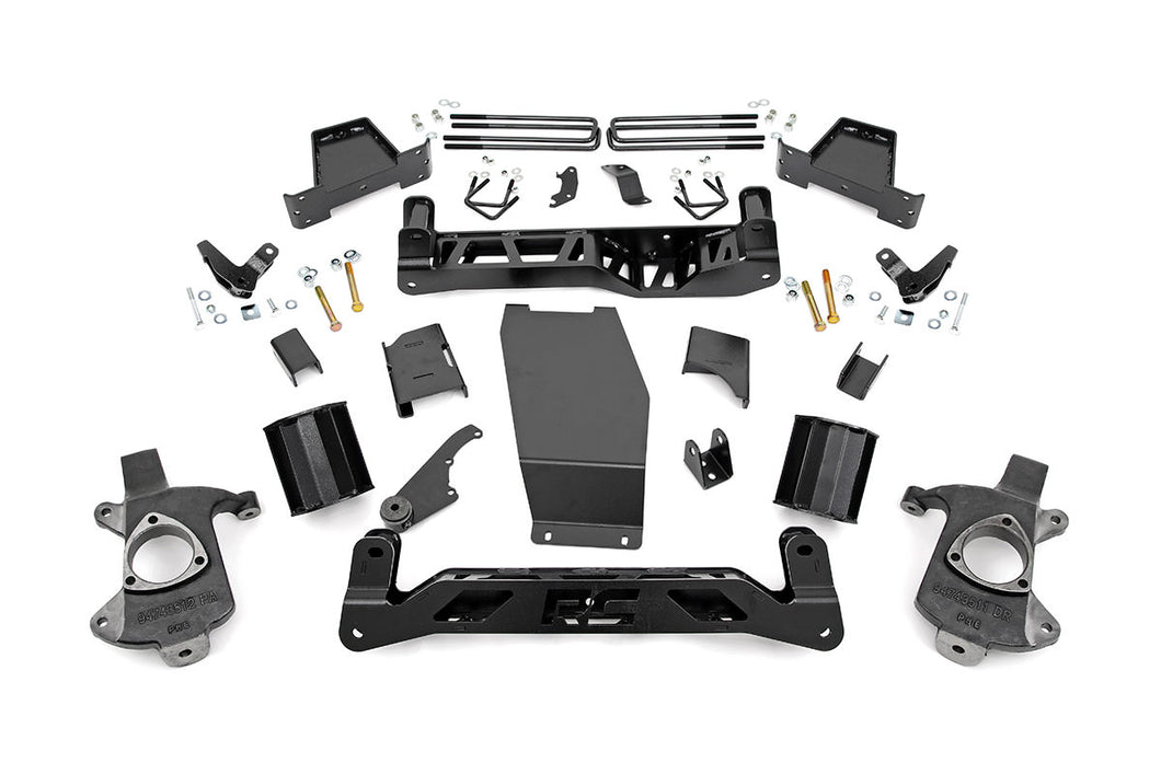 6in GMC Suspension Lift Kit (14-18 1500 Denali PU 4WD w/MagneRide Cast Steel)