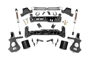 7.5in GM Suspension Lift Kit w/ V2 (14-18 1500 PU 2WD Cast Steel)