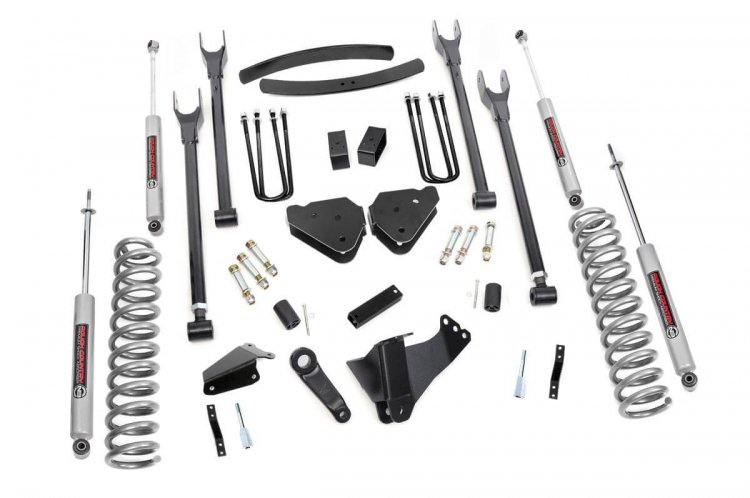 6in Ford 4-Link Suspension Lift Kit (05-07 F-250/350 4WD)