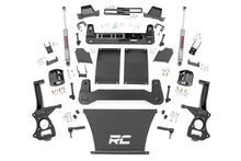 Load image into Gallery viewer, 4in GM Suspension Lift Kit Strut Spacers (19-20 1500 Trailboss / AT4 PU 4WD)