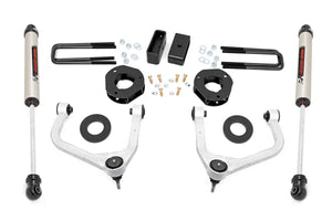 3.5in Suspension Lift Kit w/ Forged Upper Control Arms & V2 Shocks (2019 GMC 1500 PU 4WD)