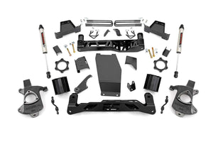 6in GM Suspension Lift Kit w/V2 Monotube (14-18 1500 PU 4WD Aluminum/Stamped Steel)