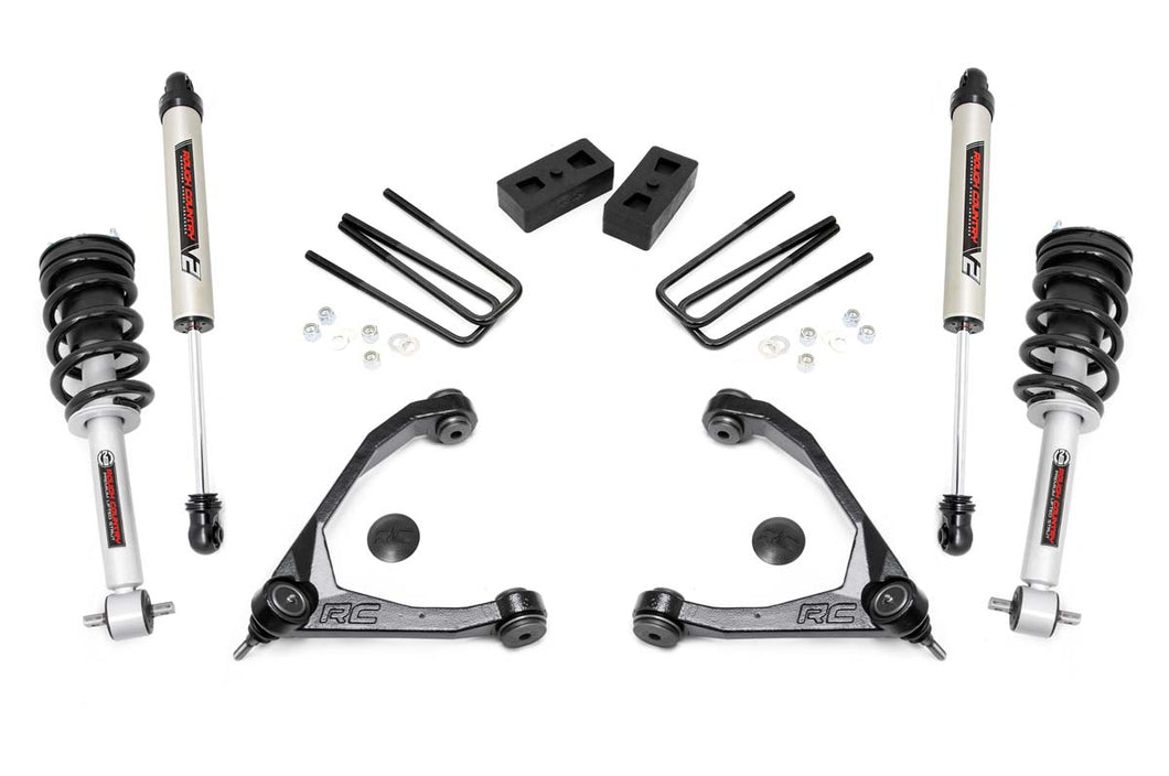 3.5in GM Suspension Lift Kit Upper Control Arms N3 Struts (14-16 1500 PU 2WD)