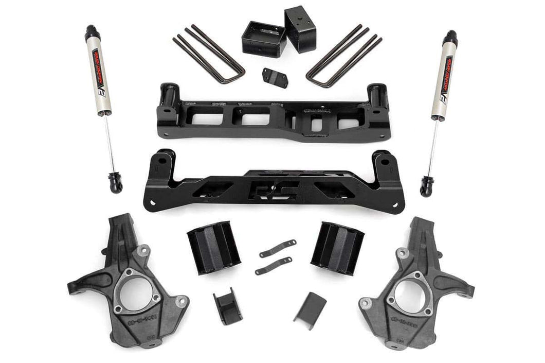 5in GM Suspension Lift Kit w/N2.0 (14-18 1500 PU 2WD Aluminum/Stamped Steel)