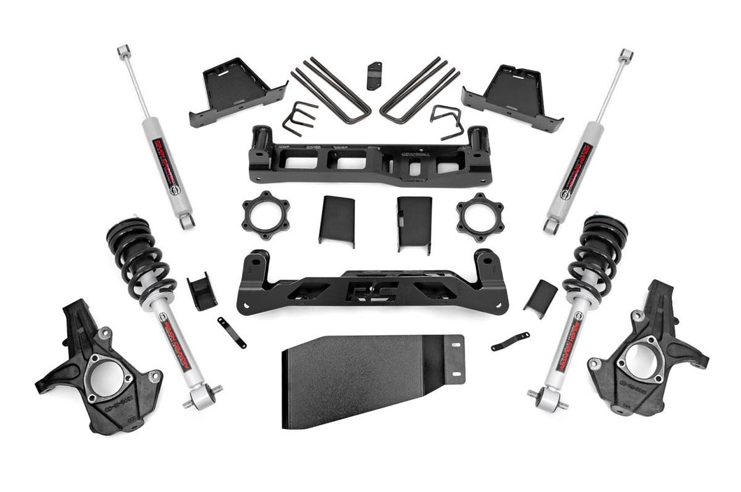 7.5in GM Suspension Lift Kit Lifted Struts (07-13 1500 PU)