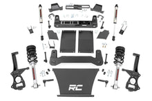 Load image into Gallery viewer, 4in GM Suspension Lift Kit Lifted Struts & V2 Shocks (19-20 1500 Trailboss / AT4 PU 4WD)