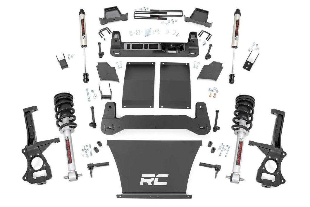 4in GM Suspension Lift Kit Lifted Struts & V2 Shocks (19-20 1500 Trailboss / AT4 PU 4WD)