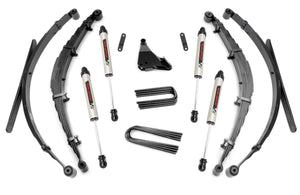 4in Ford Suspension Lift System w/ V2 Shocks