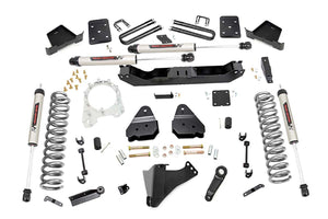 4.5in Ford Suspension Lift Kit w/V2 Shocks (17-19 F-250/350 4WD Diesel)
