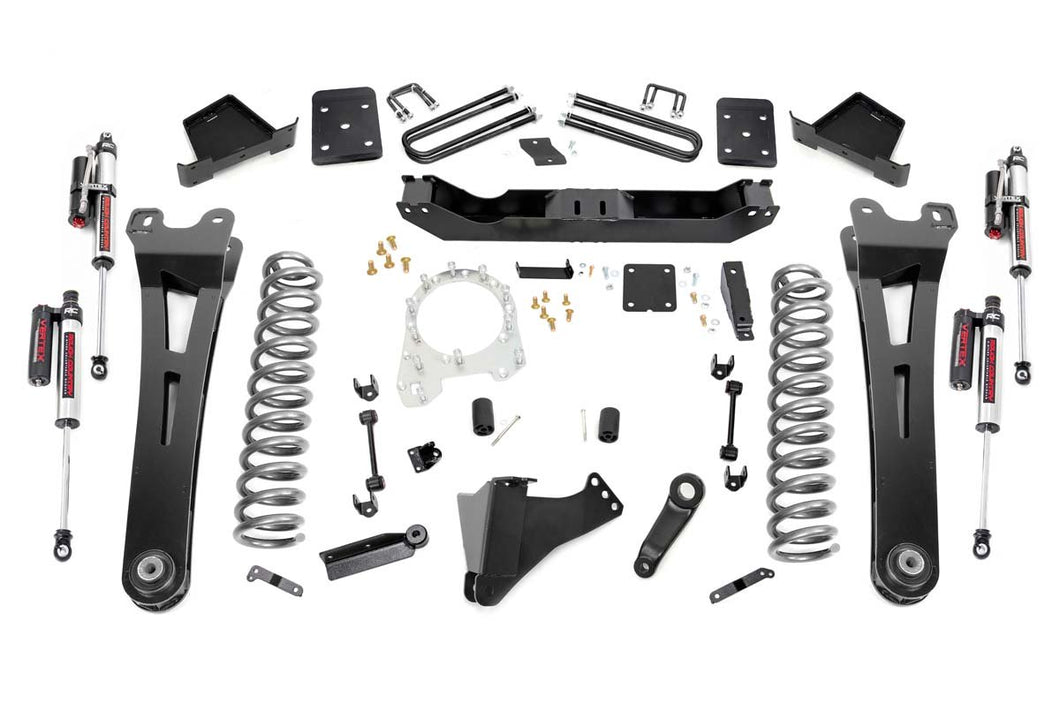 6in Ford Suspension Lift Kit w/ Radius Arms Vertex (17-19 F-250 4WD w/Overloads Diesel)