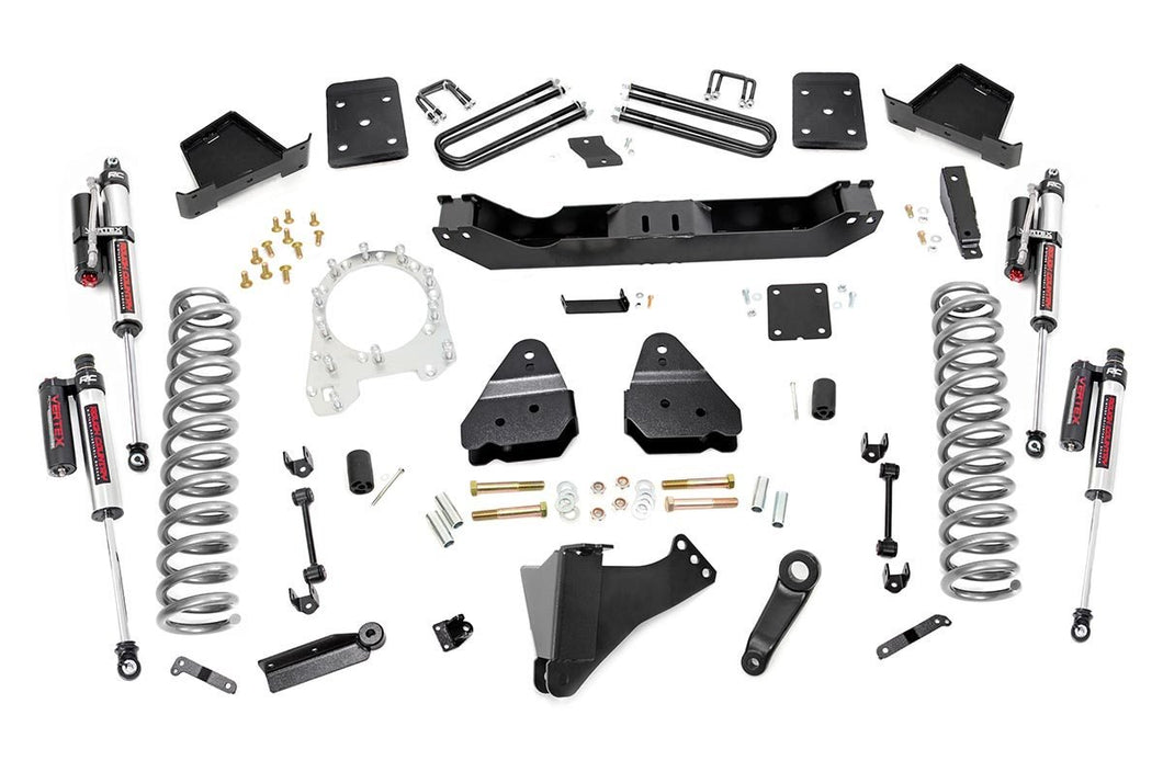 6in Ford Suspension Lift Kit Vertex (17-19 F-250/350 4WD Diesel 4in Axle w/o Overloads)