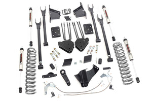 6in Ford 4-Link Suspension Lift Kit w/V2 Shocks (11-14 F-250 4WD)