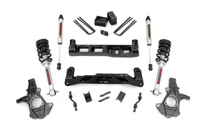5in GM Suspension Lift Kit w/V2 Shocks & Struts (14-18 1500 PU 2WD Aluminum/Stamped Steel)