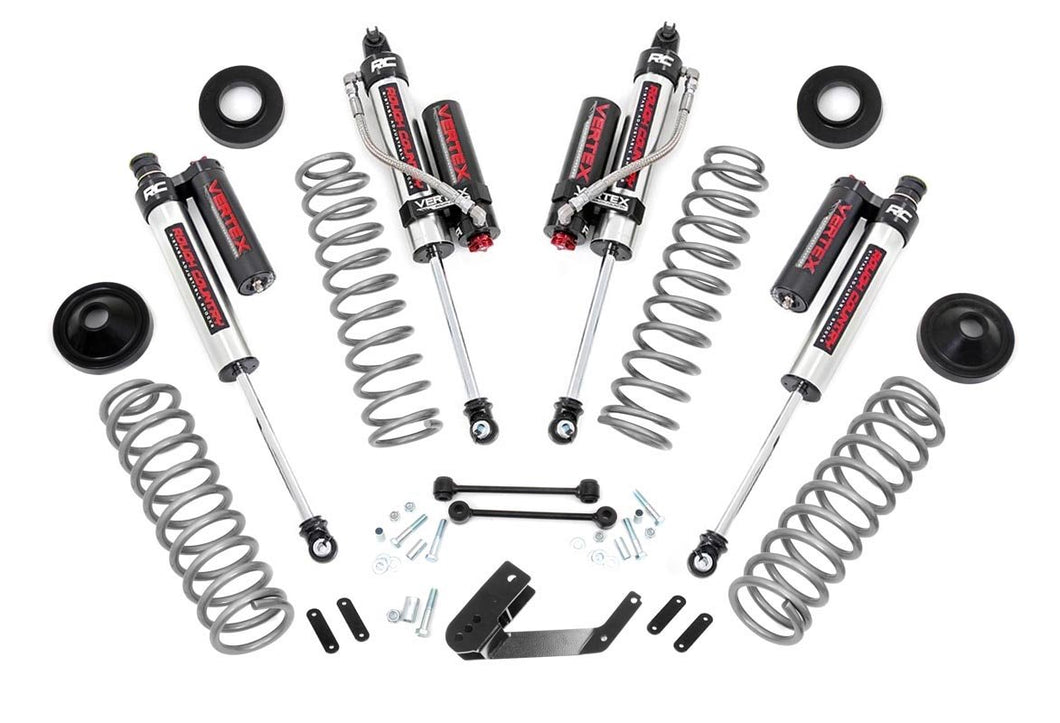3.25in Jeep Suspension Lift Kit w/ Vertex Shocks (07-18 Wrangler JK)