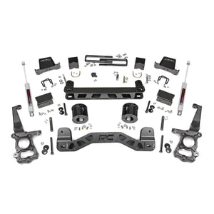 6in Ford Suspension Lift Kit w/N3 Shocks (15-20 F-150 2WD)