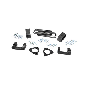 Rough Country 2.5-inch Denali Magneride Suspension Leveling Lift Kit (Factory Cast Aluminum Control Arm Models)