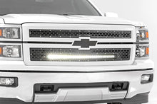 Load image into Gallery viewer, Rough Country Chevy Mesh Grille w/30in Black Series LED (14-15 Silverado 1500)