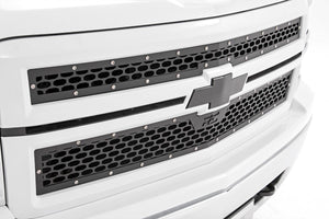Rough Country Chevy Mesh Grille (14-15 Silverado 1500)