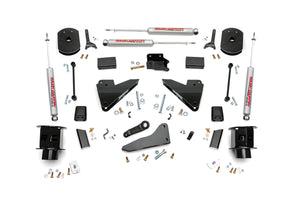 Rough Country 5-inch Radius Arm Drop Coil Spacer Suspension Lift Kit