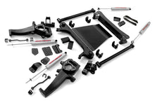 Load image into Gallery viewer, Rough Country 4-5-inch X-Series Suspension Lift Kit (2-inch Rear Blocks)