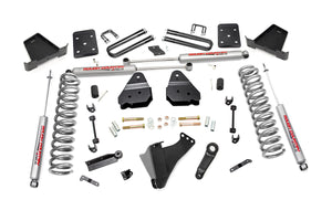 Rough Country 6-inch Suspension Lift Kit (Diesel Engine Overload Spring Models)