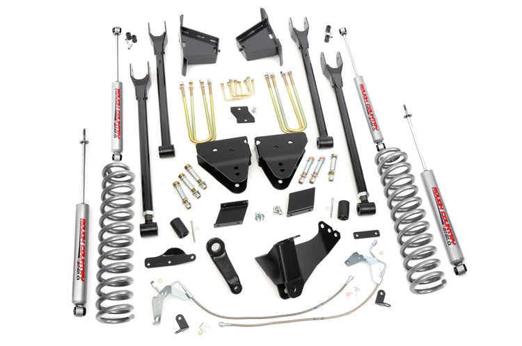Rough Country 6-inch 4-Link Suspension Lift Kit (Diesel Engine Non-Overload Spring Models)