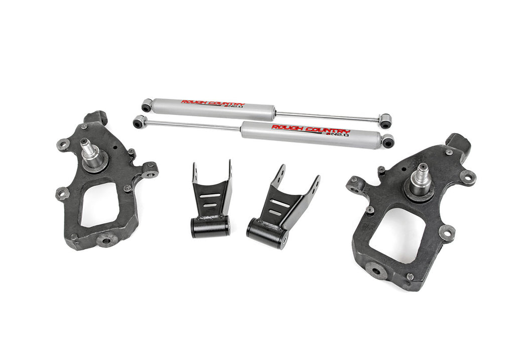 Rough Country Front 2-inch / Rear 2-inch Lowering Kit