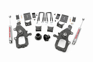 Rough Country Front 3-inch / Rear 5-inch Lowering Kit