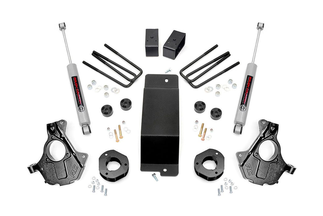 3.5in GM Suspension Lift Knuckle Kit (14-18 1500 PU 4WD Cast Steel)