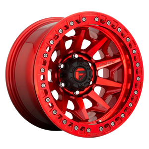 COVERT BL - OFF ROAD ONLY 17x9 5x127.00 CANDY RED (-15mm)