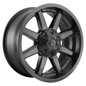 MAVERICK 20x8.25 8x200.00 MATTE BLACK (-201mm)