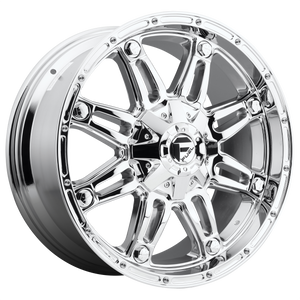 HOSTAGE 20x9 Blank CHROME PLATED (-12mm)