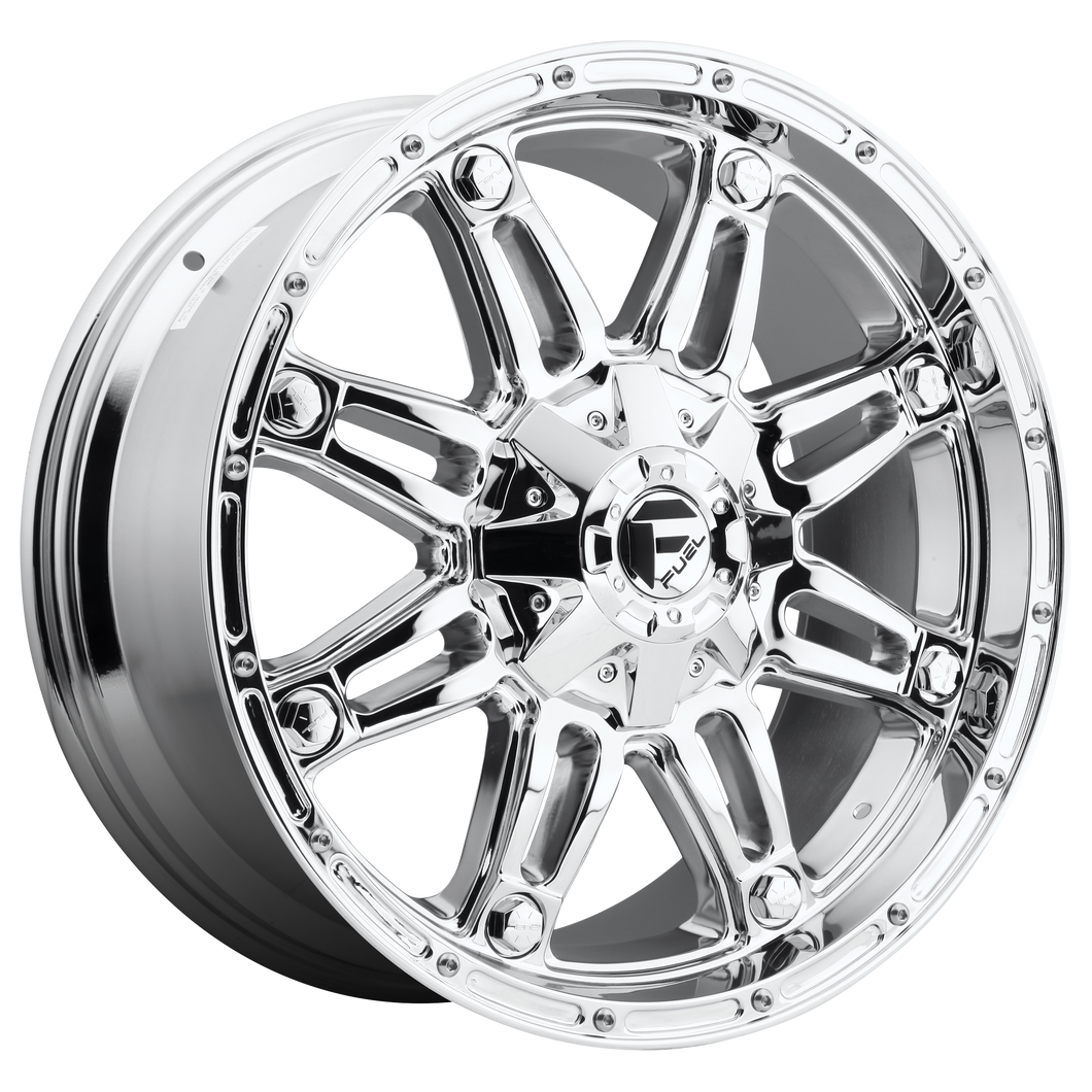 HOSTAGE 17x9 Blank CHROME PLATED (-12mm)
