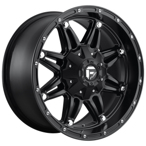 HOSTAGE 17x8.5 5x114.30/5x120.00 MATTE BLACK (38mm)