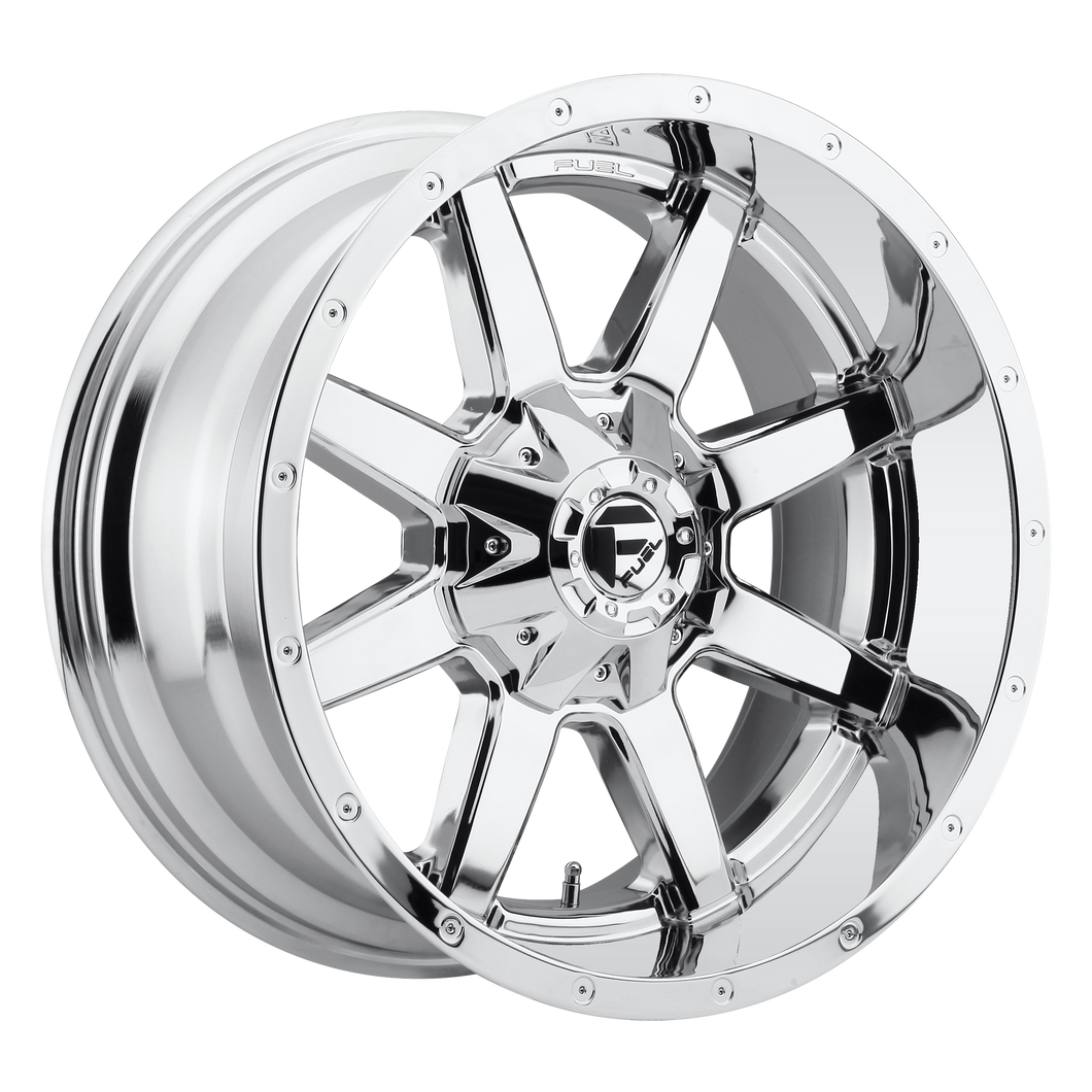 MAVERICK 17x10 6x135.00/6x139.70 CHROME PLATED (-24mm)