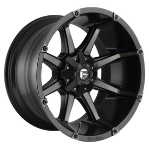 COUPLER 17x9 5x127.00/5x135.00 MATTE BLACK DOUBLE DARK TINT (-12mm)