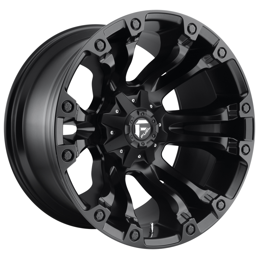 VAPOR 20x9 8x165.10 MATTE BLACK (1mm)