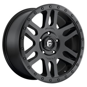 RECOIL 18x9 6x139.70 MATTE BLACK (20mm)