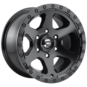 RIPPER 20x9 5x139.70 MATTE BLACK GLOSS BLACK LIP (1mm)