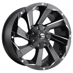 RAZOR 18x9 6x135.00/6x139.70 MATTE BLACK MILLED (20mm)