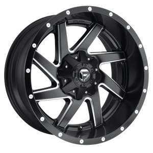 RENEGADE 20x9 8x165.10 MATTE BLACK MILLED (1mm)