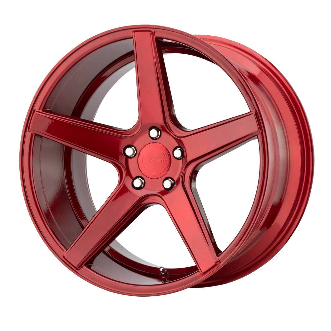 DISTRICT 18x8 5x114.30 CANDY RED (38mm)