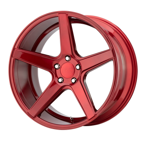 DISTRICT 20x8.5 5x120.00 CANDY RED (35mm)