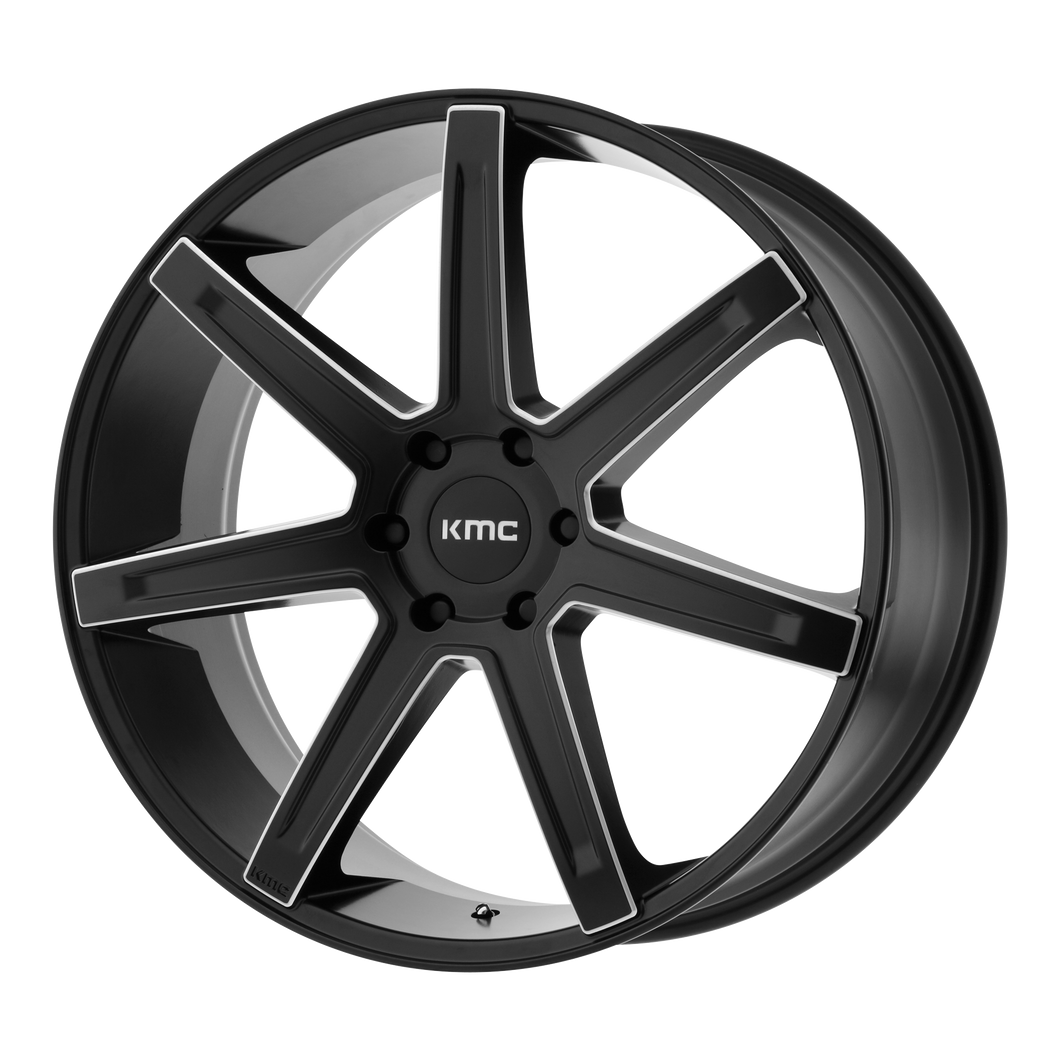 REVERT 22x9.5 5x127.00 SATIN BLACK MILLED (38mm)