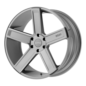 DUECE 24x9.5 Blank SATIN GRAY MILLED (15mm)