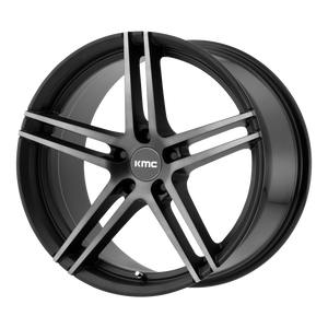 MONOPHONIC 19x9.5 5x114.30 SATIN BLACK W/ TITANIUM BLACK FACE (35mm)