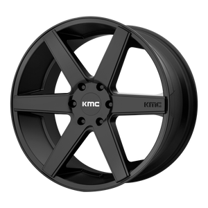 DISTRICT TRUCK 22x9 6x139.70 SATIN BLACK (30mm)