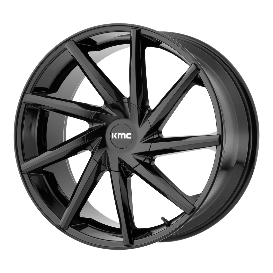 BURST 24x9.5 6x135.00/6x139.70 GLOSS BLACK (15mm)