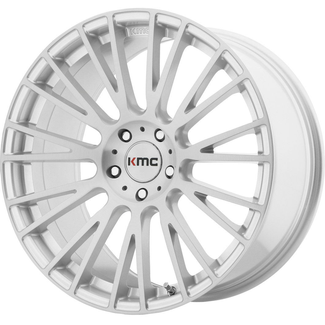 IMPACT 20x8.5 5x114.30 BRUSHED SILVER (35mm)