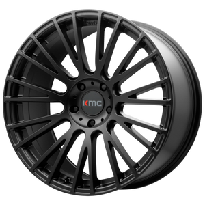 IMPACT 20x8.5 5x112.00 SATIN BLACK (25mm)
